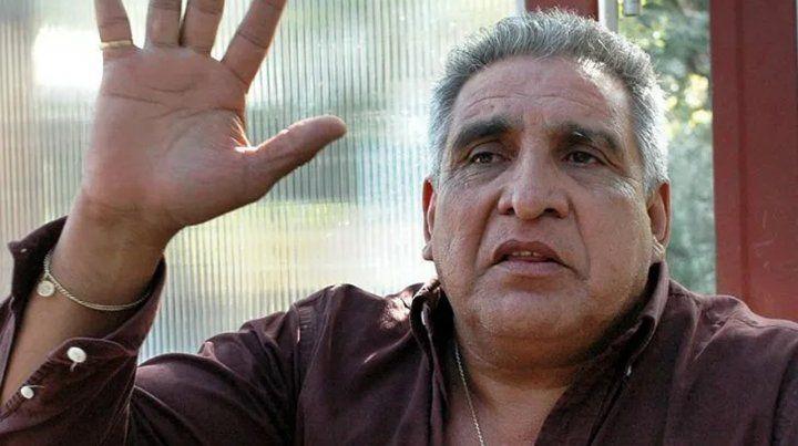 El Pata Medina está internado por hacer huelga de hambre