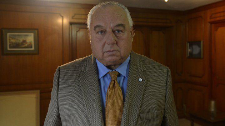 Rafael Gutiérrez volverá a la presidencia de la Corte Suprema santafesina.