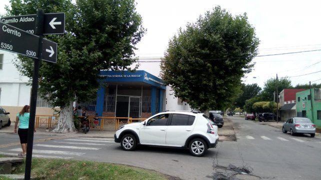 La esquina donde ocurrió la balacera. (Foto: Francisco Guillén)