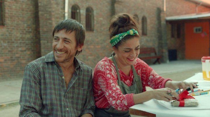 Dúo protagónico. Diego Cremonesi y Paola Barrientos
