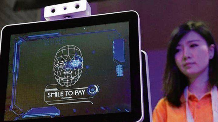 escaneo de rostro. El sistema ya se usa en China en comercios