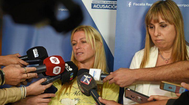 Julia Coria dijo que hay riesgo de fuga del imputado.