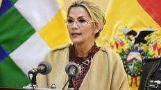 mandataria. Jeanine Áñez todavía no cumplió un mes en el poder.