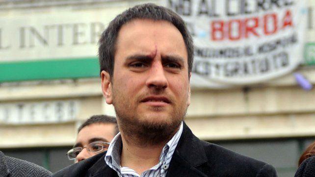 Juan Cabandié, ministro de Medio Ambiente.