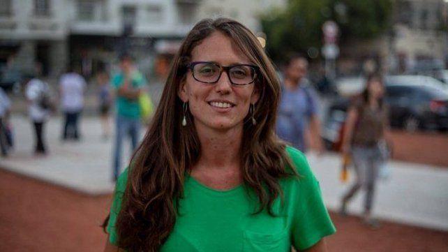 Elizabeth Gómez Alcorta, ministra de la Mujer, Género y Diversidad.