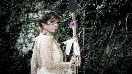 Guerrera. El último disco de Fabiana Cantilo, Cuna de piedra, está influenciado por la cultura celta.