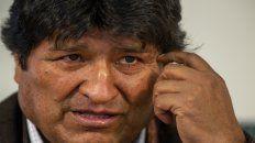 Morales, exiliado en México, se niega a reconocer la invalidación de las elecciones del 20 de octubre.