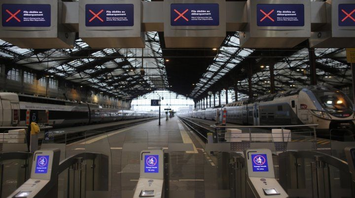 desierto. La Gare de Lyon