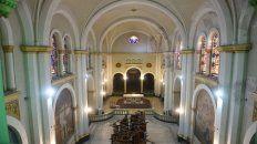 Transformación. La iglesia del Buen Pastor, ubicada en Laprida 2747, cuenta con nueva iluminación.
