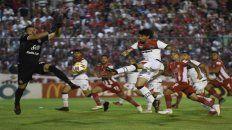 Mauro Formica fue de la partida en la victoria rojinegra hace un año ante San Martín en Tucumán.