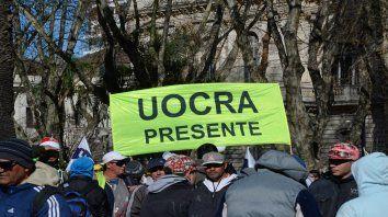 Manifestación. Una protesta organizada por el gremio.