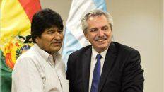 Alberto y Evo ya se conocen. El presidente electo le ofreció asilo el pasado 15 de noviembre.