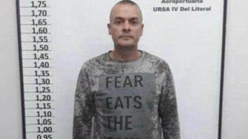 En su casa. El ex comisario Alejandro Druetta tendrá pulsera electrónica.