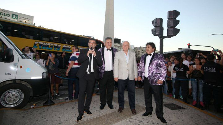 Juntos en Buenos Aires. El gobierno provincial se hizo cargo de los costos de la gira del grupo