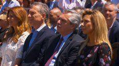 Macri y Alberto Fernández, juntos por la unidad y la paz
