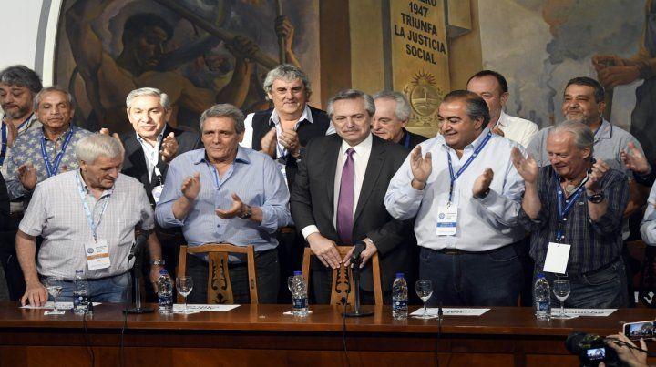 No al triunvirato. Los sindicalistas locales también reclamaron que la CGT debe volver al unicato.