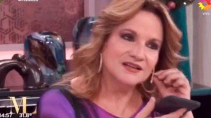 Lucía Galán divulgó el audio que dice que le envió un amigo después de muerto