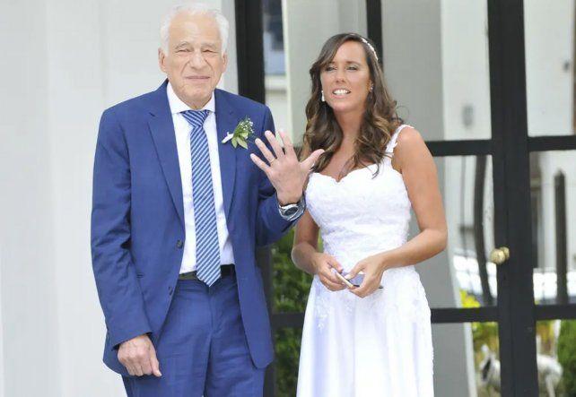 Las fotos de la boda de Cormillot con su novia de 33 años