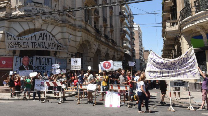 Lifschitz garantizó la continuidad de los trabajadores del Ministerio de Cultura