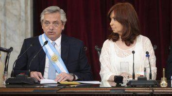 datos. En su mensaje a la Asamblea Legislativa, Fernández repasó la crítica situación de la economía.