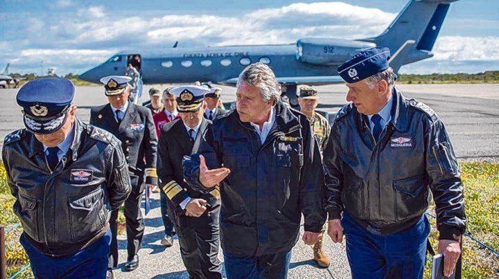 operativo. El ministro de Defensa chileno