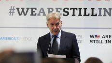 figura. Harrison Ford, durante su intervención en Madrid.