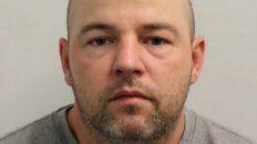 psicópata. Joseph McCann perpetró 37 delitos de secuestro y violación.