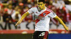 De zurda. Nacho Fernández tuvo una recuperación veloz y estaría para jugar.