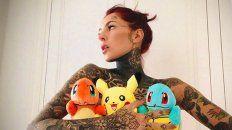 ¿Es o no es Cande Tinelli la chica tatuada del video erótico?