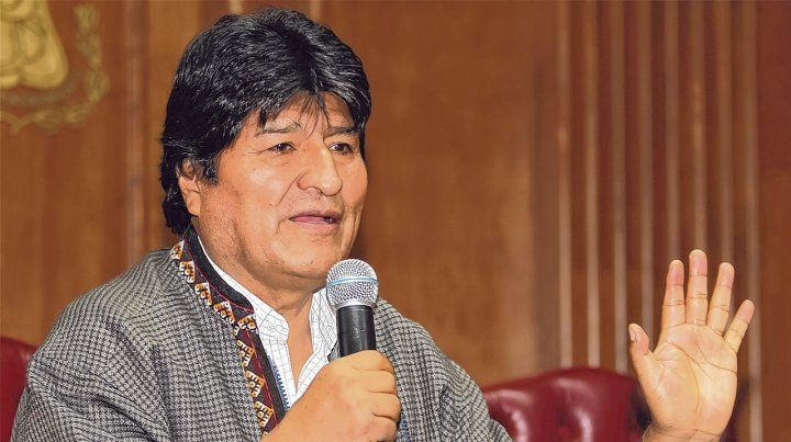 Morales renunció el 10 de noviembre pasado