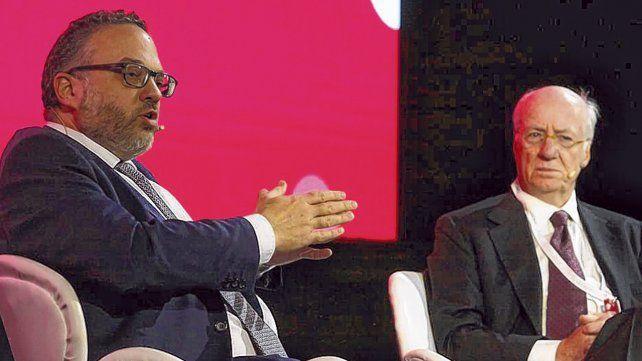el plan. Kulfas planteó alentar una estrategia exportadora. Paolo Rocca prometió colaborar con el gobierno.