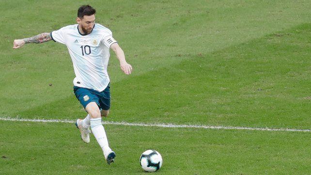 Irreemplazable. Lionel Messi es el emblema futbolístico de la selección de Scaloni.