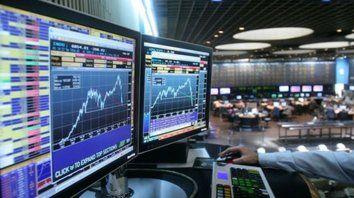 arriba. El Merval subió 1,9% impulsado por los papeles de empresas financieras y energéticas.