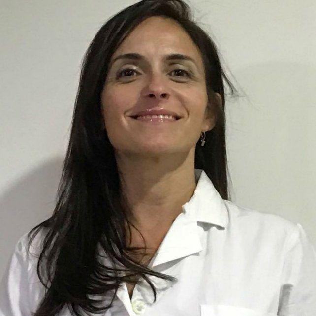 La doctora Yanina Marcelloni.