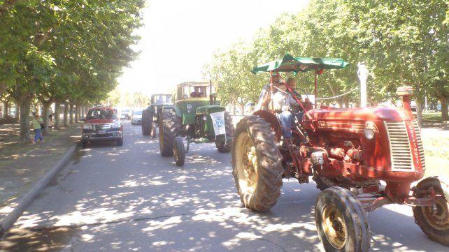 El tractorazo se espera para mañana al mediodía en Rosario.