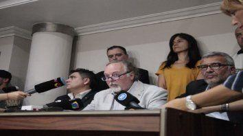 Cauteloso. El fiscal, Bernardo Alberione, no abundó en detalles. Lo hará el lunes luego de indagar al acusado.