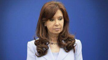 La vicepresidenta de la Nación, Cristina Fernández de Kirchner.