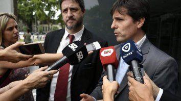 Matías Edery y Luis Schiappa Pietra, los fiscales.