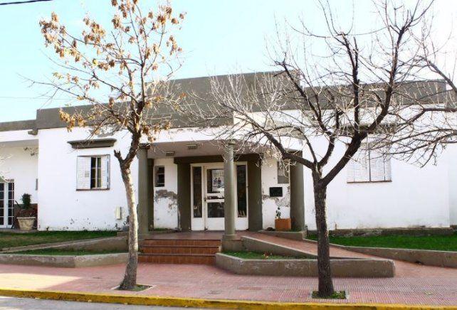 El Hospital Américo Luqui, de Capilla del Monte, donde internaron a La Hiena Barrios.