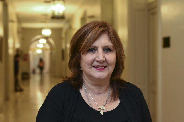 La ministra de Educación de la provincia, Adriana Cantero.