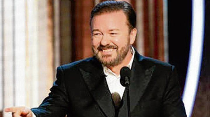 Implacable. Ricky Gervais.