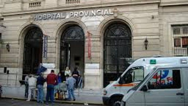 Jimena fue llevada al Hospital Provincial