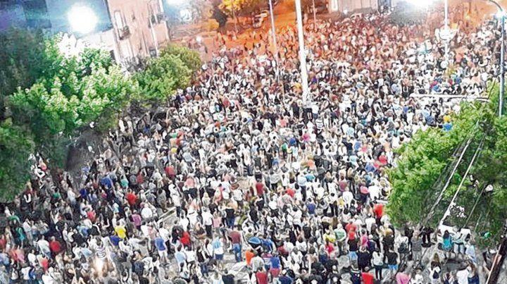 reclamo. La marcha del viernes pasado en Rafaela