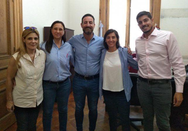El ministro Sukerman se reunió con mujeres choferes de colectivos