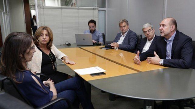 El gobernador se reunió en Buenos Aires con funcionarios nacionales