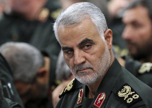 """Trump dijo que el general Qasem Soleiman """"debió ser eliminado hace mucho tiempo antes""""."""
