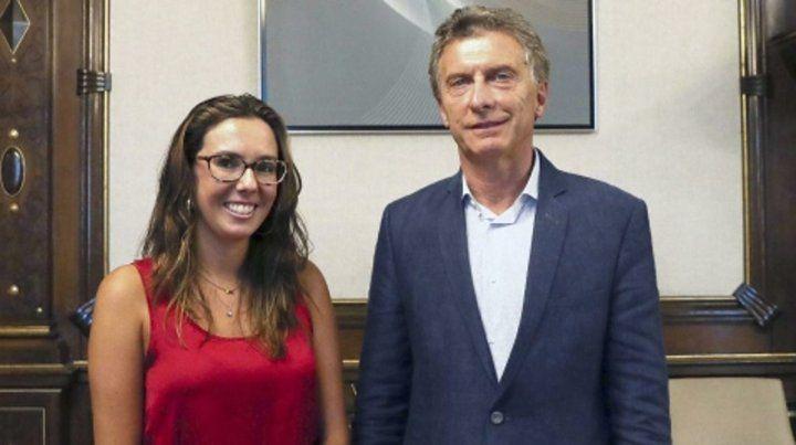 No es embajadora. Elisa Trotta Gamus había sido recibida por Macri.