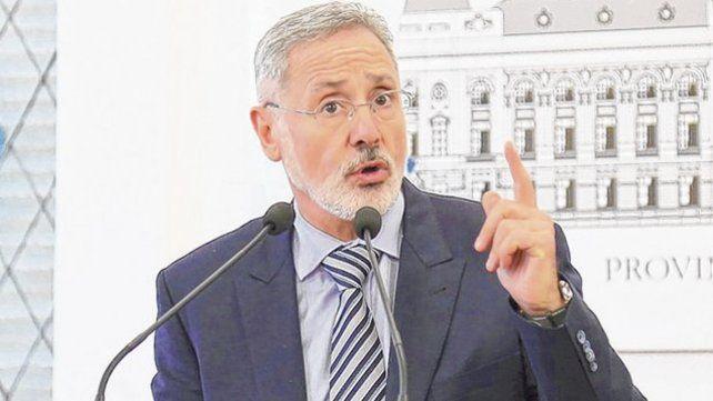 El reporte fue presentado por el ministro de Seguridad Marcelo Saín.