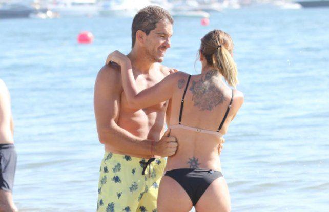 Amalia Granata disfruta de las vacaciones en Punta del Este