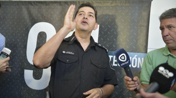 El jefe de la Unidad Regional II de Policía